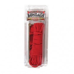 Bondage Rope Cotton (Red)