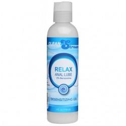 Clean Stream Relax Anal Lubricant w/Benzocaine 4 fl oz