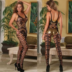 Club Seamless Crotchless Catsuit 119 One Size