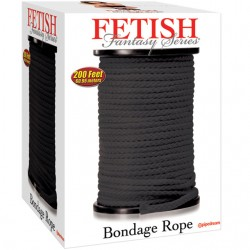 Fetish Fantasy Bondage Rope Black