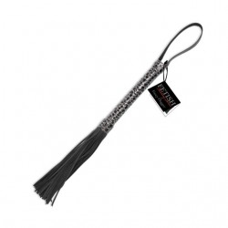 Fetish Fantasy Designer Flogger Black