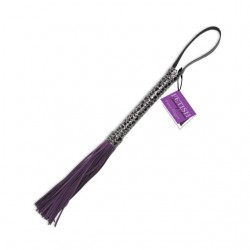 Fetish Fantasy Designer Flogger Purple