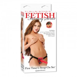 Fetish Fantasy First Timers Strap-On Set Red