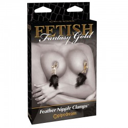 Fetish Fantasy Gold - Deluxe Feather Clamps