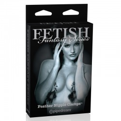 Fetish Fantasy Ltd. Ed. Feather Nipple Clamps