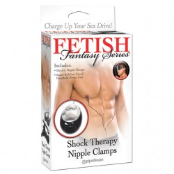 Fetish Fantasy Shock Therapy Nipple Clamps