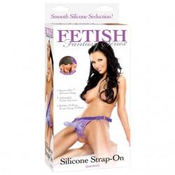Fetish Fantasy Silicone Strap-On Purple