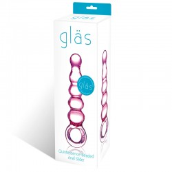 Glas Quintessence Beaded Anal Slider