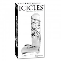 Icicles No. 40 Hand Blown Glass Massager