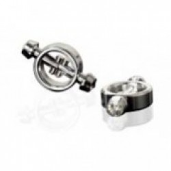 Jeweled Steel Magnetic Nipple Clamps thumbnail