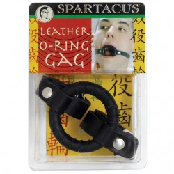 Leather O Ring Gag