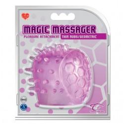 Magic Massager Attachment (Thin Nubs/Geometric)