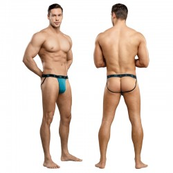 Male Power Bamboo Jock Teal L/XL