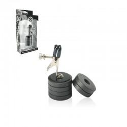 Master Series Onus Nipple Clamp w/Magnet Weights