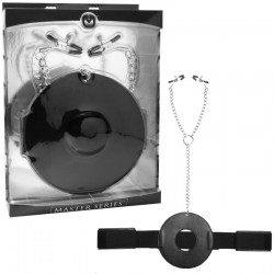 Masters Detained Restraint System With Nipple Clamps