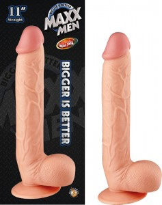 Maxx Men 11in Straight Dong Flesh