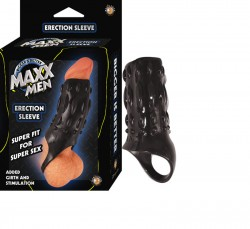 Maxx Men Erection Sleeve Black