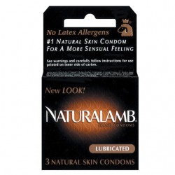 Naturalamb Lubricated Condoms