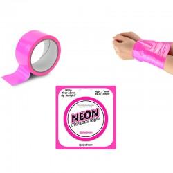 Neon Bondage Tape - Pink