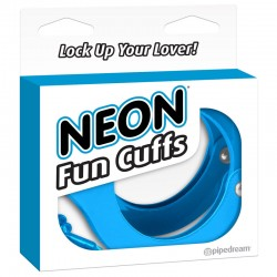 Neon Fun Cuffs - Blue