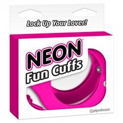 Neon Fun Cuffs - Pink