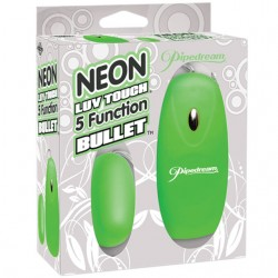 Neon Luv Touch 5 Function Bullet Green