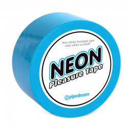 Neon Pleasure Tape Blue
