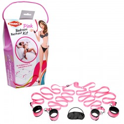 Pink Bedroom Restraint Kit