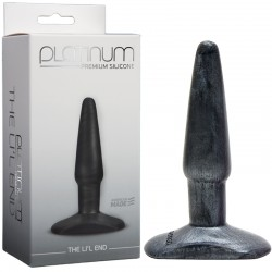 Platinum Premium Silicone - The LiL End Charcoal