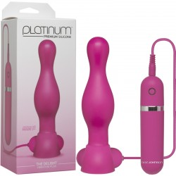 Platinum - The Delight Vibrating Plug Pink