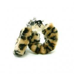 Plush Love Cuffs (Leopard)
