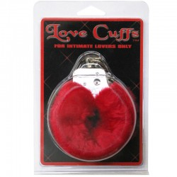 Plush Love Cuffs (Red)