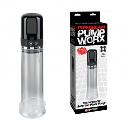 Pump Worx - Rechargeable 3 speed Auto-Vac Penis Pump