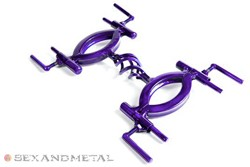 Trans-Purple basket case handcuffs thumbnail