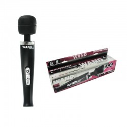 Rechargeable 8 Speed 8 Funct. Wand (Blk)