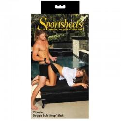 Sportsheets Vibrating Doggie Style Strap
