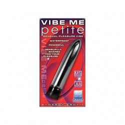 Synergy Vibe Me Petite Luster Black Waterproof Multi Speed Mini Vibrator