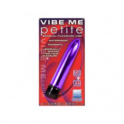Synergy Vibe Me Petite Luster Lavender Waterproof Multi Speed Mini Vibe