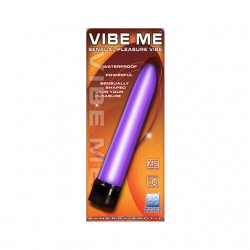 Synergy Vibe Me Waterproof Multi Speed Straight Vibrator (Lavender)
