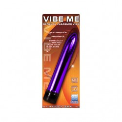 Synergy Vibe Me Waterproof Multi Speed Straight Vibrator Luster Purple