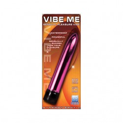 Synergy Vibe Me Waterproof Multi Speed Straight Vibrator (Pink)