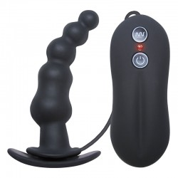 Tinglers I Vibrating Butt Plug- Black