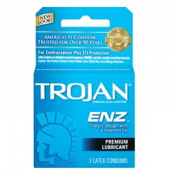 Trojan-Enz Lubricated Condoms
