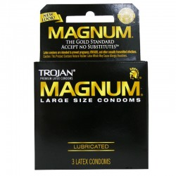 Trojan Magnum Larger Size Condoms