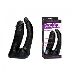 Vac-U-Lock - Double Penetrator - The Naturals CODEBLACK