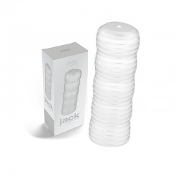 VeDO Jack Stimulation Sleeve - Crystal Clear