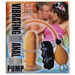 Vibe Throbbing Anal Balloon (Flesh)