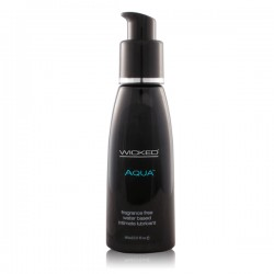 Wicked Aqua Lube Fragrance Free 2 fl.Oz