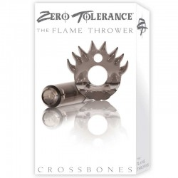 ZT Flame Thrower - Single Bullet Smoke Cock Ring / 1 Smoke Bullet