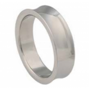Beveled Designer Stainless Steel Cock Ring